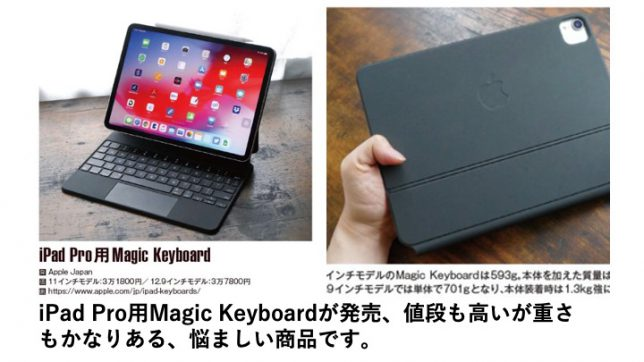 Magic Keyboardの説明